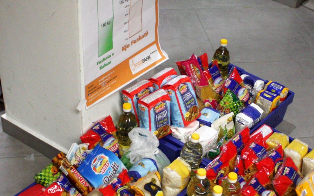 Ushqimet që dhurohen nga klientët tanë nëpër markete shkojnë për bamirësi.